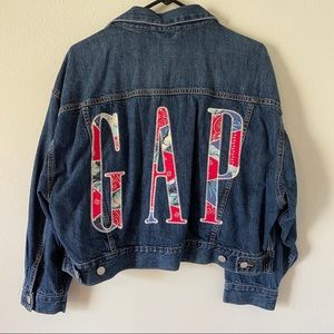 GAP Crop Jean Jacket
